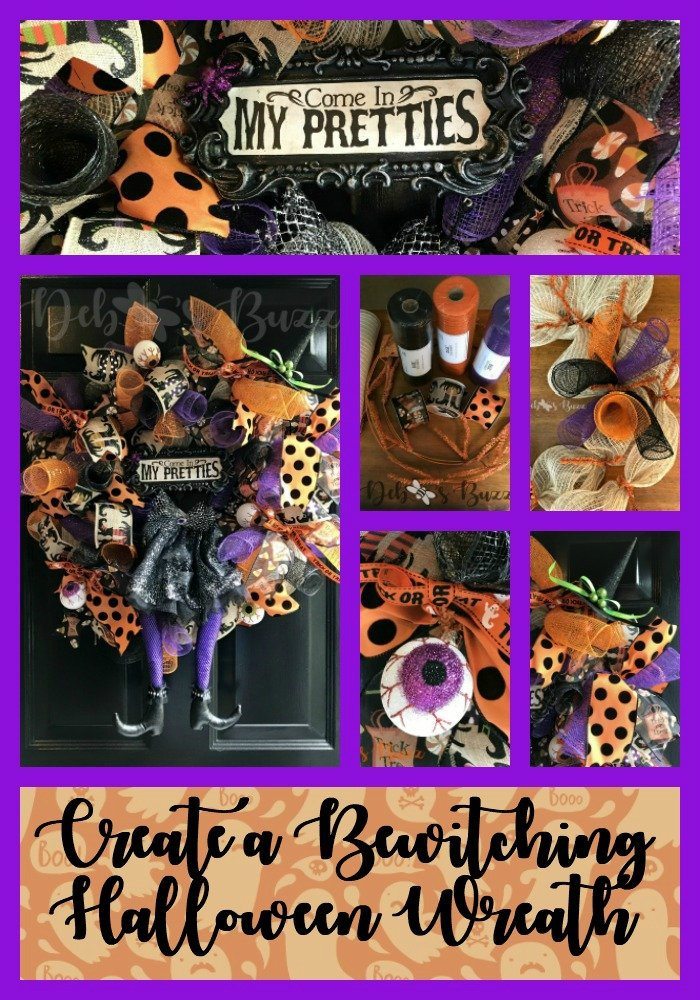 Halloween-wreath-witch-collage