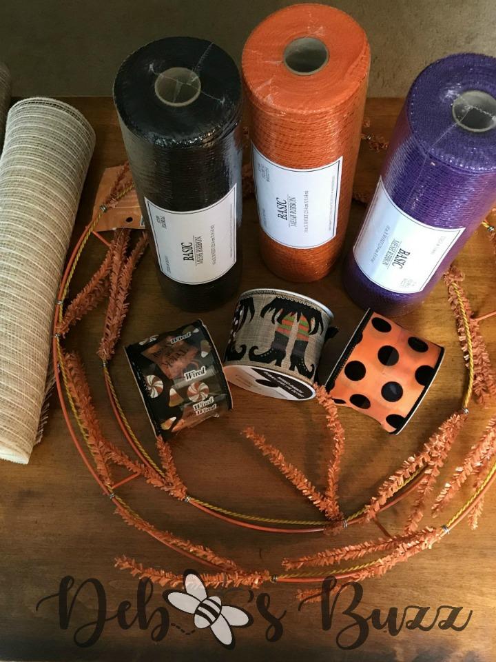 Halloween-wreath-witch-supplies