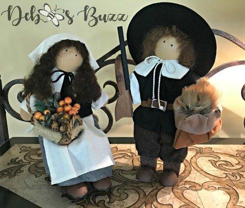 Lizzie pilgrims