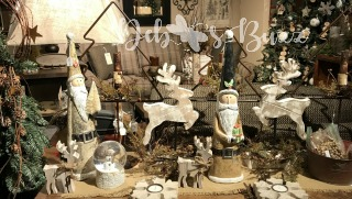 Old Allegheny Christmas display