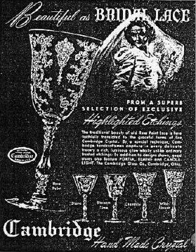 Rose Point crystal ad