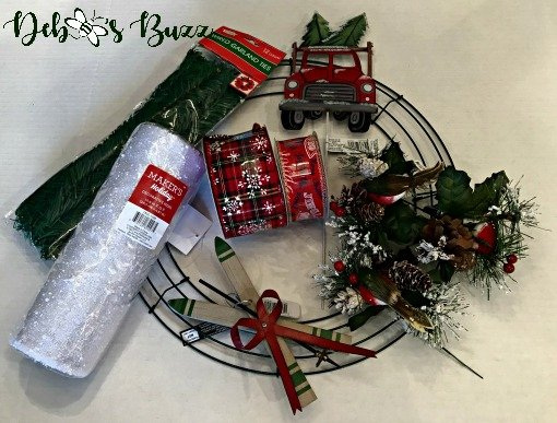 Christmas-tree-diy-wreath-supplies