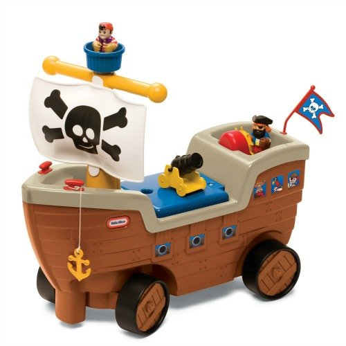 Little tykes pirate ship
