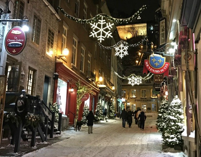 Christmas Card from Old Quebec City