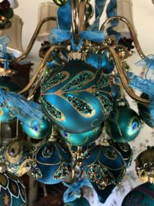 Peacock hanging ornaments