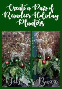 Reindeer-Christmas-planters-pair