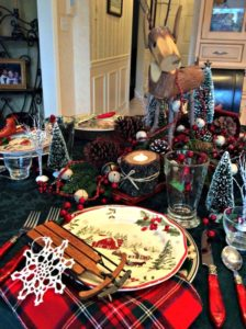Sled tablesetting