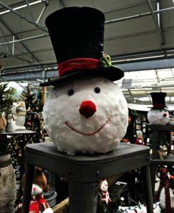 Trax Farms Snowman