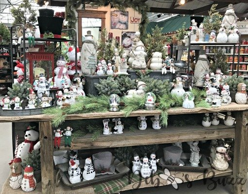 Trax Farms snowmen