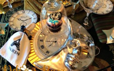 Celestial Tablescape Rings in New Year