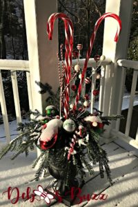 candy-cane-Christmas-urn-snow