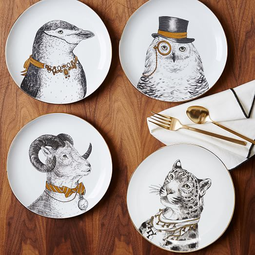 gilded-dapper-animal-plates-WE
