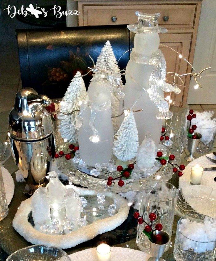 5 Snowman Centerpieces Decorate Winter Table Debbee S Buzz