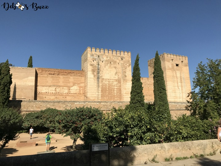 Spain-Alhambra-fortress-walls