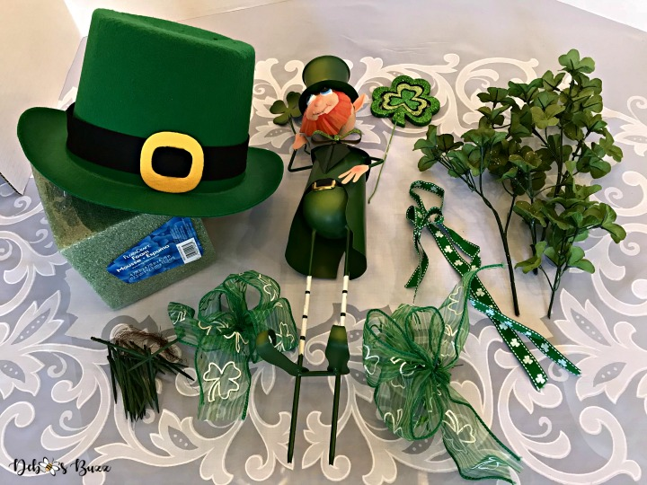 Quick and Easy Lucky Leprechaun Centerpiece