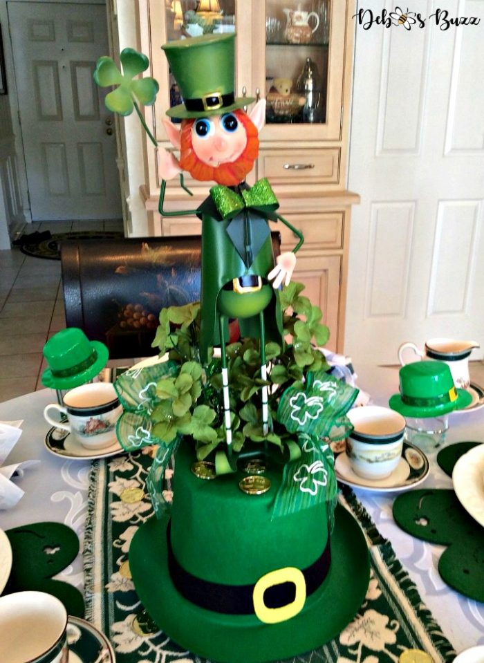 lucky-leprechaun-centerpiece-table