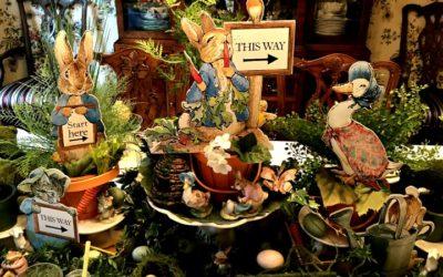 Beatrix Potter Easter Hunt in Mr. McGregor's Garden