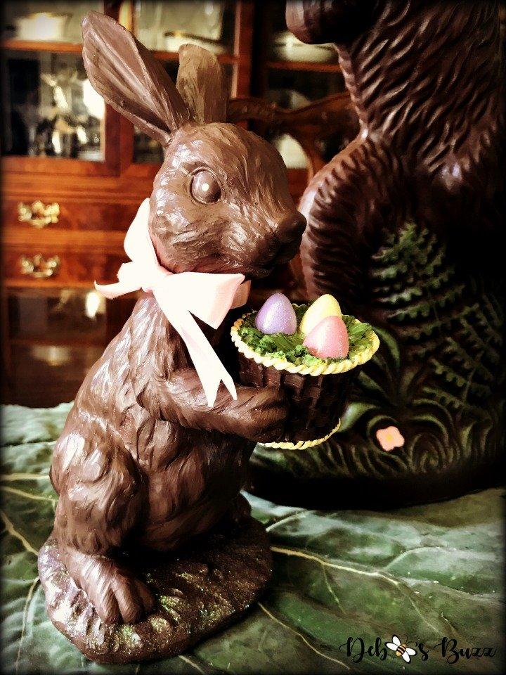 chocolate-rabbit-centerpiece-basket