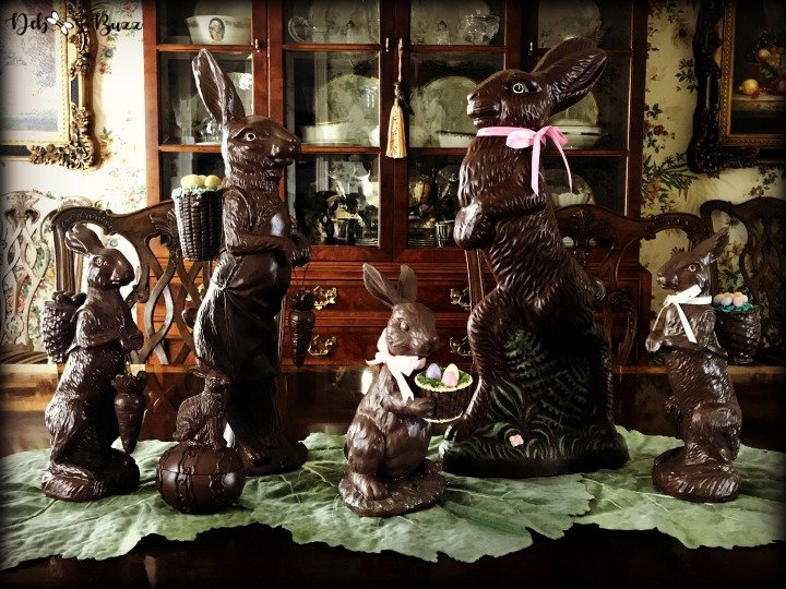 chocolate-rabbit-centerpiece-easter
