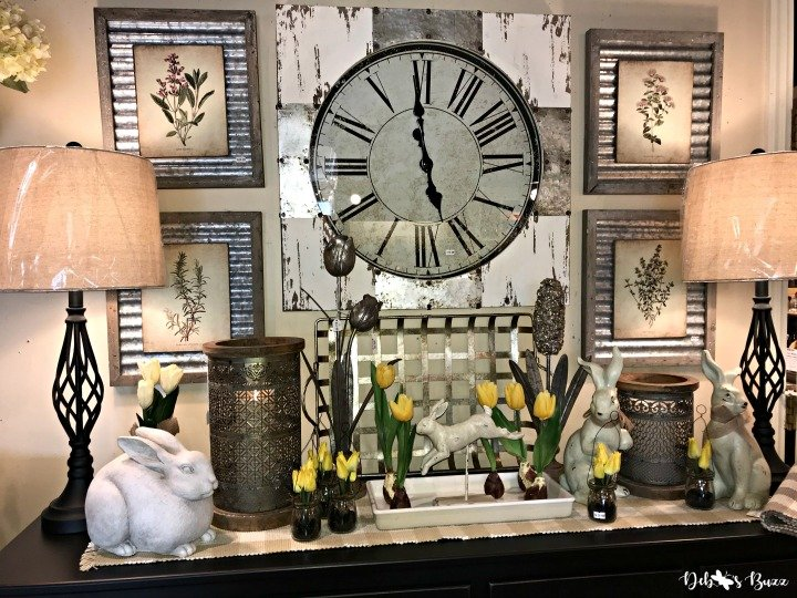 spring-open-house-clock-display