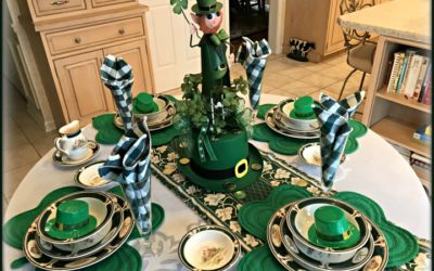Ireland Pursuit St. Patrick's Day Table