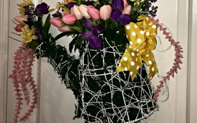 Charming Watering Can Wreath Project for Spring
