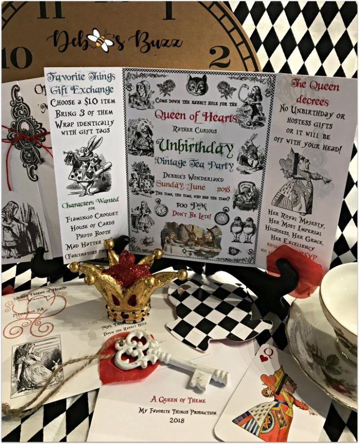 alice-in-wonderland-display-queen