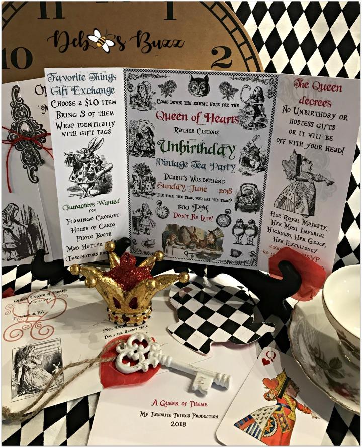 alice-in-wonderland-display-queen