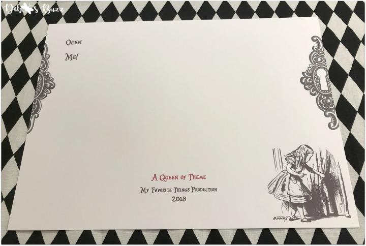 Diy Alice In Wonderland Invitation My Favorite Things Party