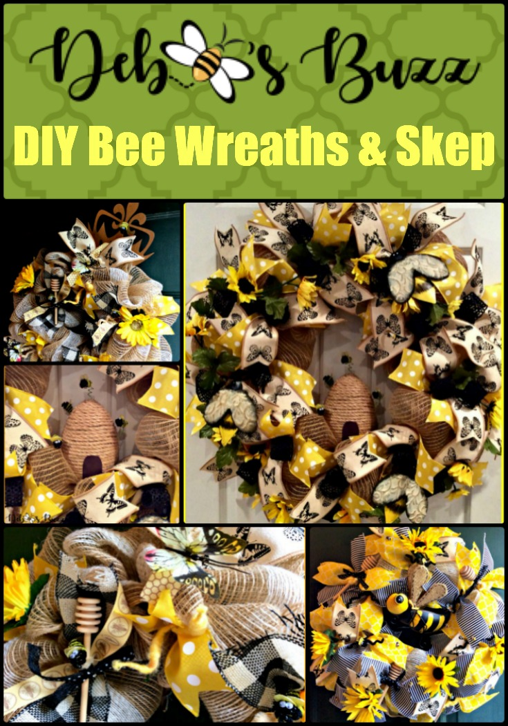 bee-wreath-DIY-collage-pin
