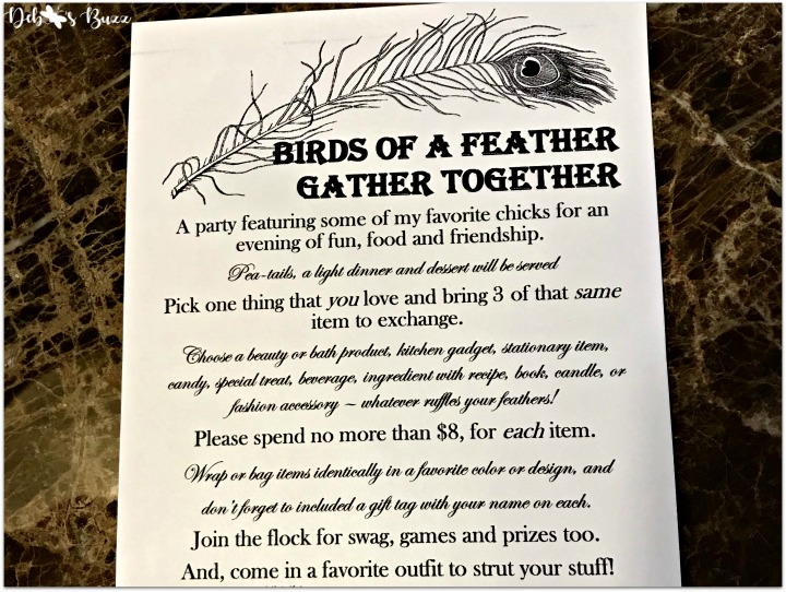 peacock-invitation-my-favorite-things-party-directions