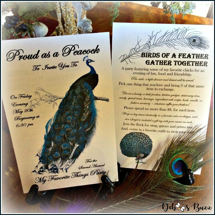 peacock-invitation-my-favorite-things-party-both-sides