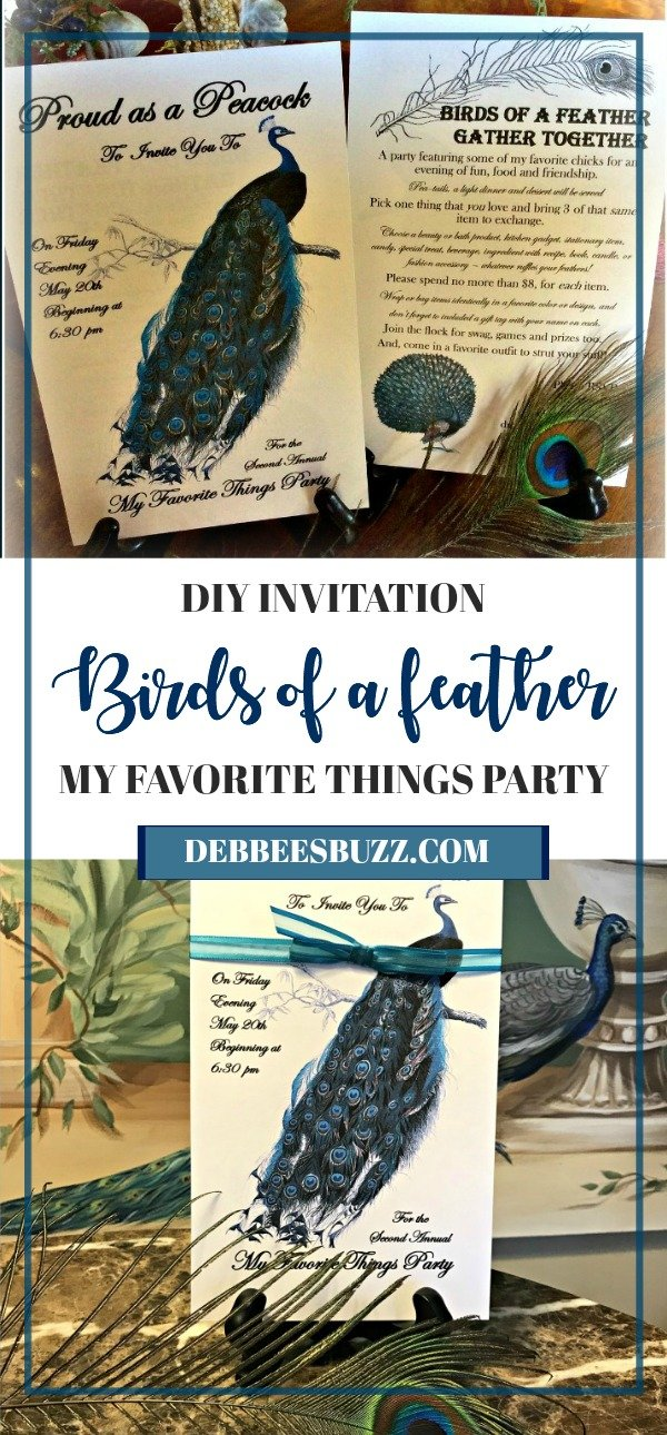 peacock-party-my-favorite-things-party-long-pin