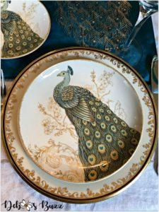 peacock-tablescape-plate-Lenox-Eclipse-pattern