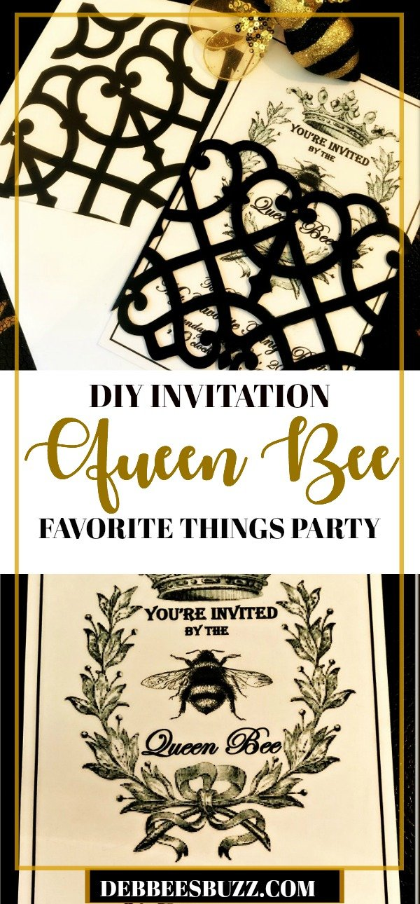 queen-bee-invitation-my-favorite-things-party-long-pin