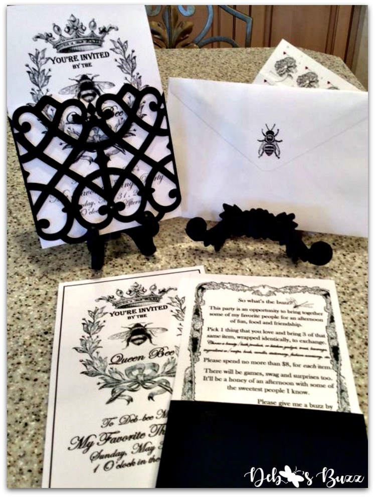 queen-bee-invitation-my-favorite-things-party-wedding-kit