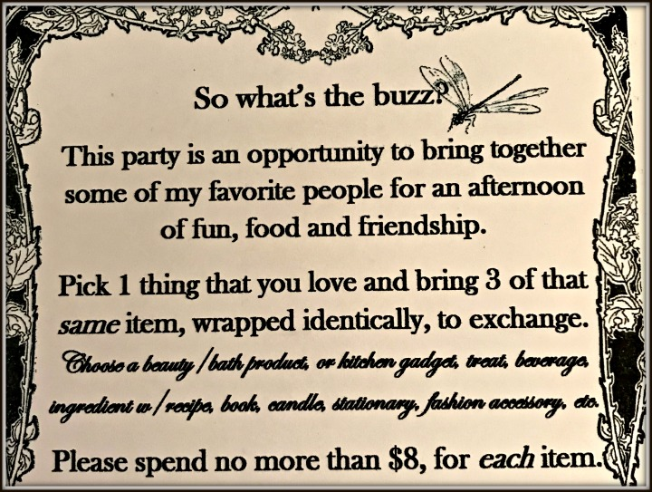 queen-bee-my-favorite-things-party-invitation-exchange