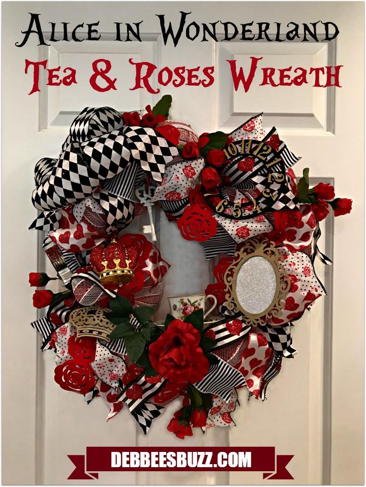 alice-in-wonderland-theme-wreath-tea-roses-full-white-door-pin