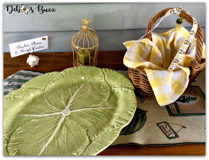 bee-theme-party-food-cabbage-platter