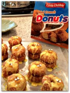 bee-theme-party-food-crunch-donuts