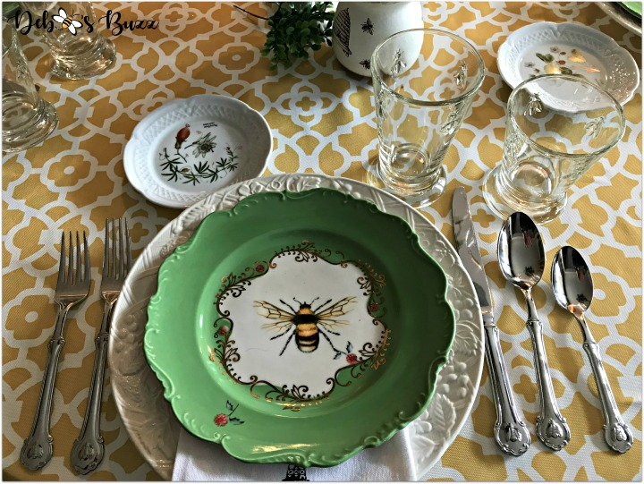 hapbee-birthday-table-bee-place-setting