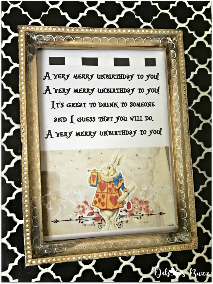 alice-wonderland-unbirthday-party-song-sign