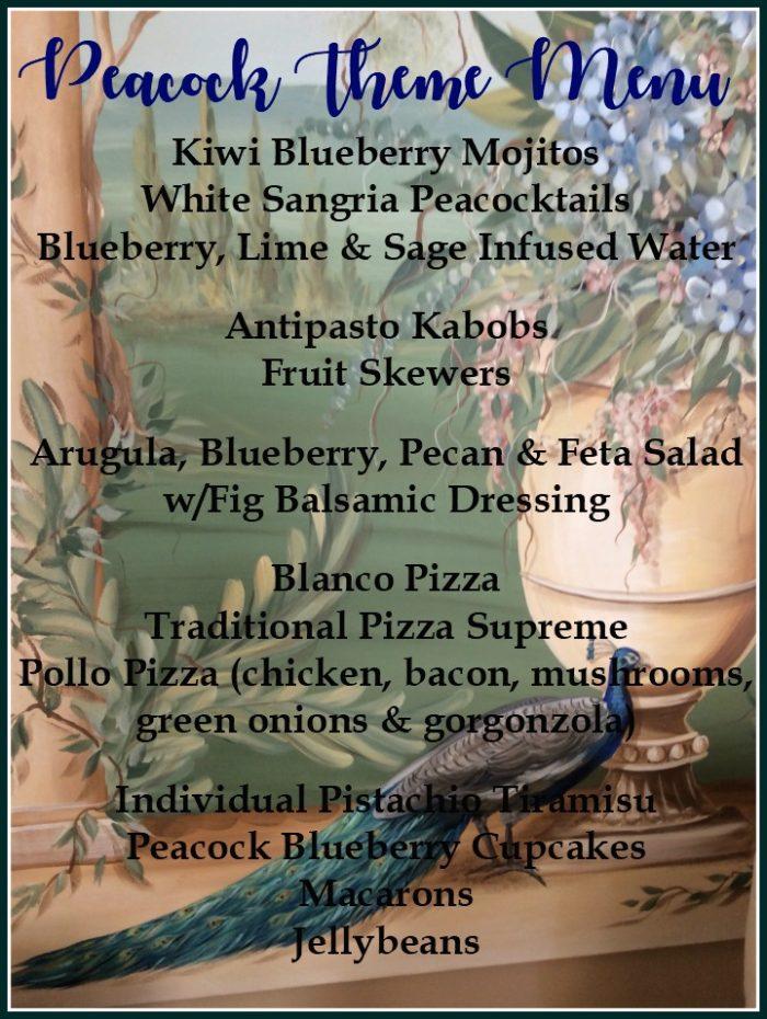 peacock-theme-menu