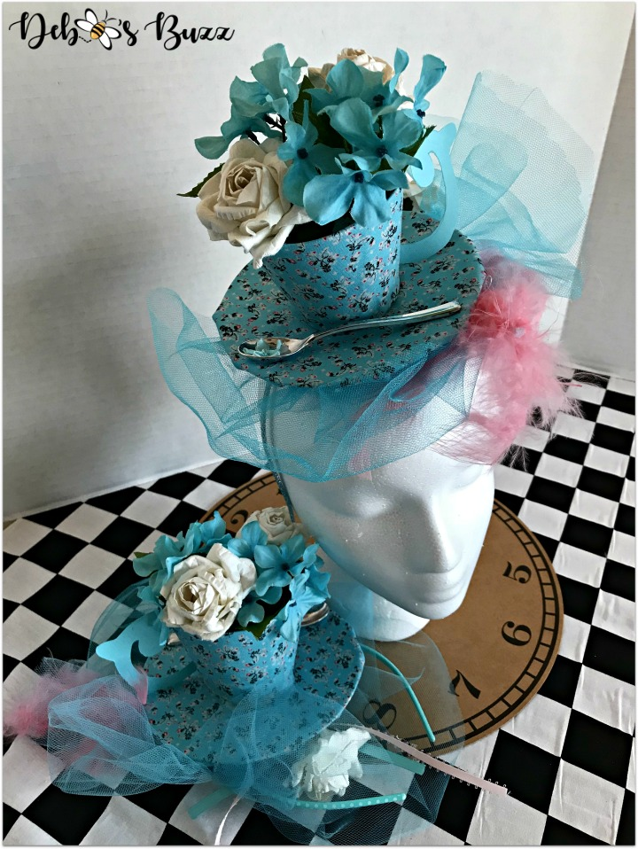 teacup-fascinator-aqua-head-duo-alice-in-wonderland-my-favorite-things-party-favor