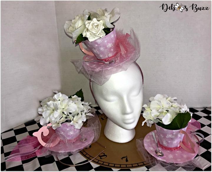 teacup-fascinator-pink-head-trio-alice-in-wonderand-my-favorite-things-party-favor