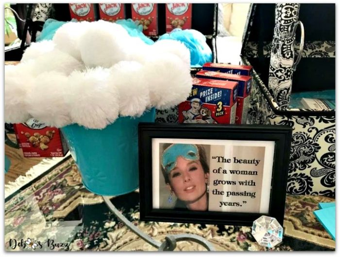 Terrific Tiffany Theme Party Favors and Gifts