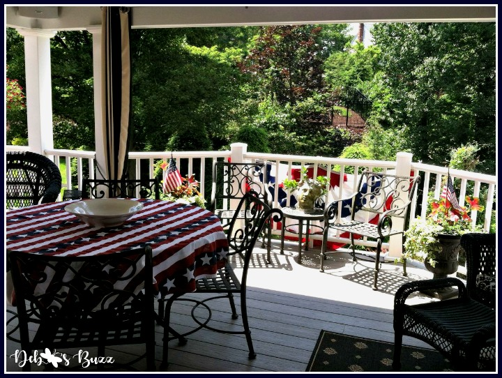Independence-Day-decorations-porch-bunting-flags
