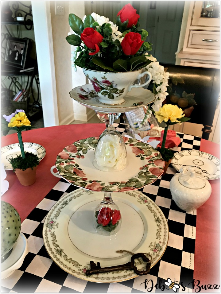 alice-in-wonderland-table-tiered-vintage-china-server