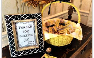 My Favorite Things Bee Party Gifts, Favors and Games