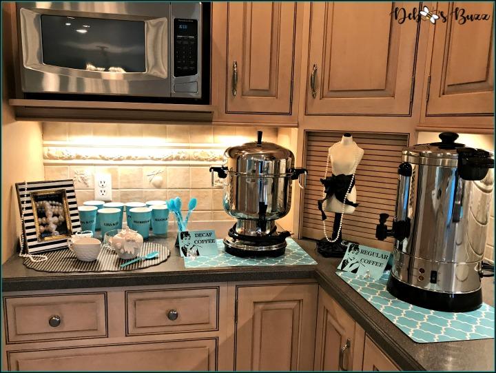 breakfast-at-tiffany's-theme-brunch-coffee-bar
